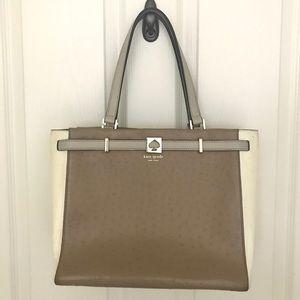 Kate Spade Two Tone Handbag Purse